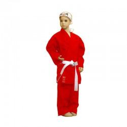 """Червено карате кимоно """"EDO"""" Aki 12 oz"""
