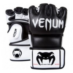 Venum -Undisputed-MMA Gloves - Black - Nappa Leather
