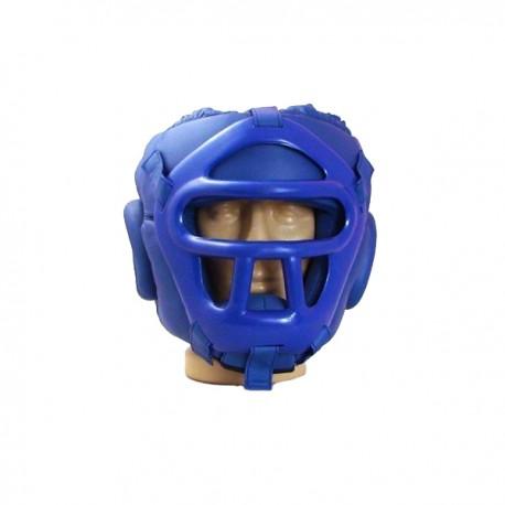 Каска със сваляща се пластмасова маска