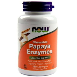 NOW - Papaya Enzymes