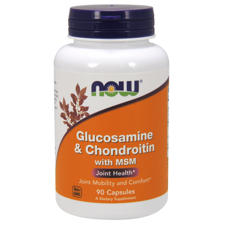 Glucosamine Chondroitin with MSM-Глюкозамин, Хондроитин и MSM