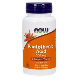 NOW - Витамин B-5 (Pantothenic Acid)