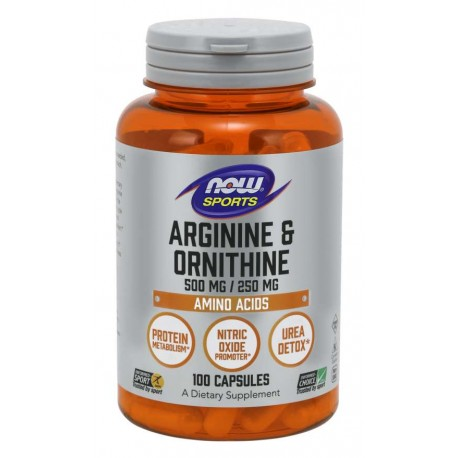 Arginine & Ornithine-Аргинин и Орнитин