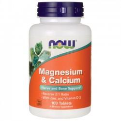 NOW - Magnesium & Calcium