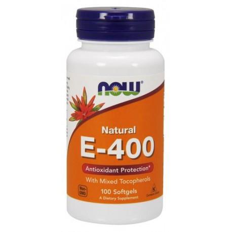 NOW - Витамин E-400 IU MT