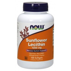 NOW - Sunflower Lecithin 1200 МГ