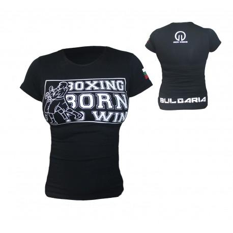 Дамска Боксова тениска- IRONINSIDE