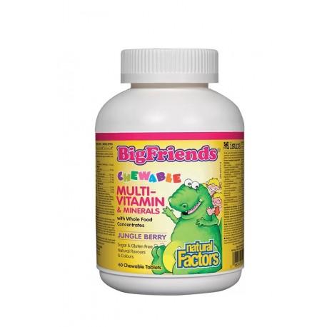 Мултивитамини и минерали Big Friends