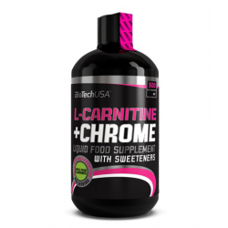 L-Carnitine + Chrome Liquid