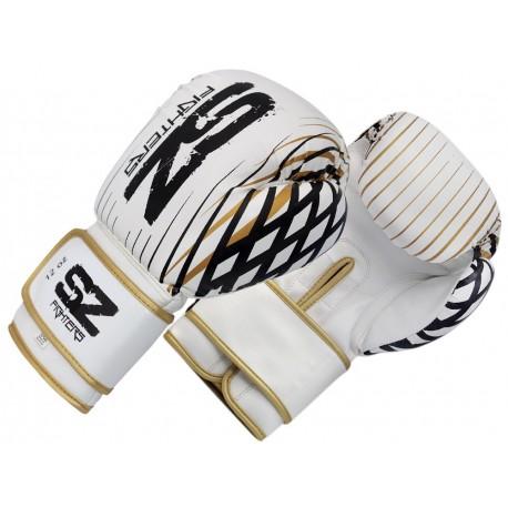 Боксови ръкавици    телешка кожа- Plasma - Gold