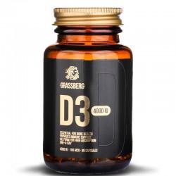 Grassberg -Vitamin D3 4000