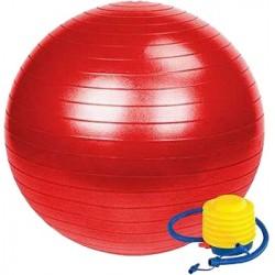 Гимнастическа швейцарска топка с Помпа 75 см